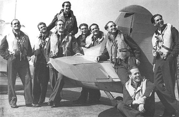 Polish Ace Pilots of the 303 squadron, Aug 1942, Kirton-in-Lindsay