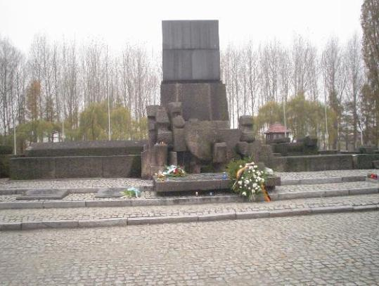 Monuments to victims of Auschwitz - Krakow