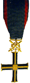 The Commemorative Cross of Monte Cassino ( wounded in action 8 times)
