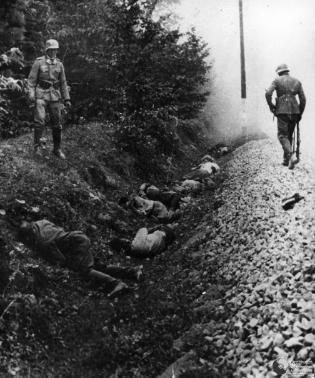 Execution of Poles by Nazis