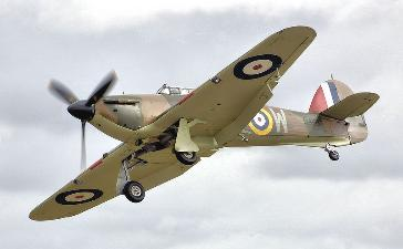 Hurricane MK R4118 Fairford WW2