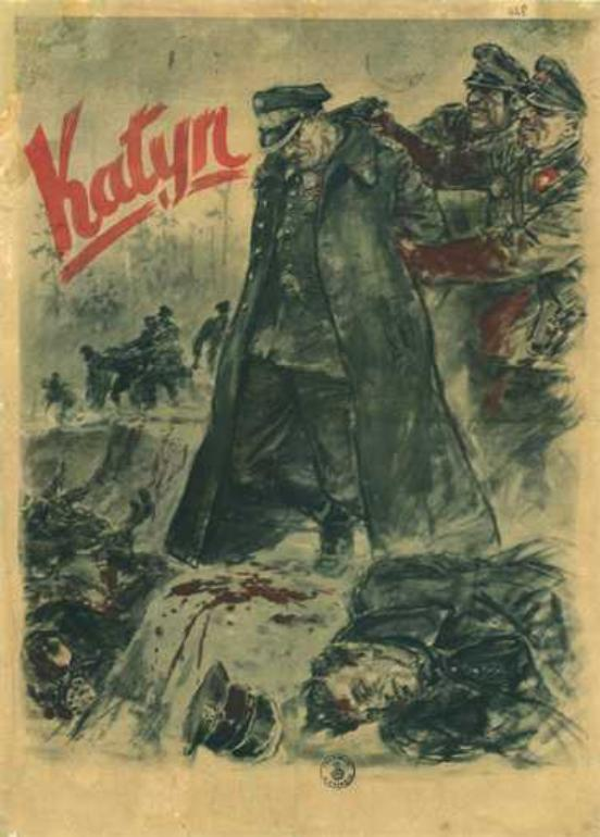 Katyn Massacre poster enlargement