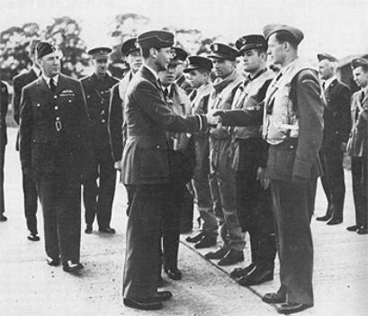 King George VI paid tribute to Polish Squadron