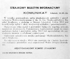 Solidarnosc Leaflet Interfactory Committee