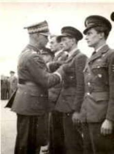 General Sikorski awarding Medals of Bravery to Polish Pilots