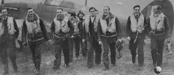 Kosciuszko Squadron, elite aces of Battle of Britain, WW2