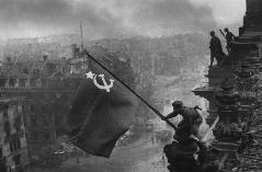 Soviet Flag over Reichstag, Battle of Berlin,