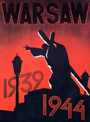 Wwii Poster Warsaw X