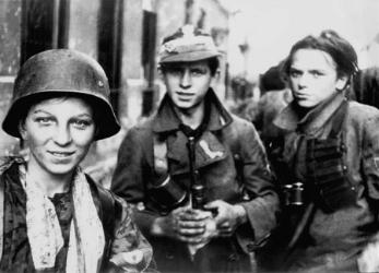 Young Polish Scouts, WW2, Warsaw Uprising