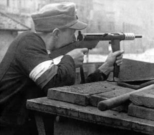 Warsaw Uprising young freedom fighter