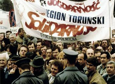 Solidarnosc Demonstration Poland